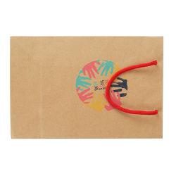 Новый дизайн логотипа торгового центра печати крафт-бумаги или сумку с ручкой