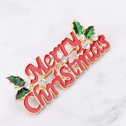Cina fabbricazione Vendita calda spilla di lapel di Natale di Brooch in stock