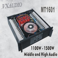 고주파 통과 & 저역 크로스오버 안정되어 있는 성과 전력 증폭기 (MT1601)