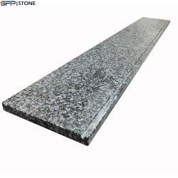 Pulido natural nuevo G654h losas de granito gris oscuro/Antepechos/títulos/Escaleras para decoración