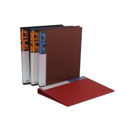 カスタムCmyk A4のファイルホルダーはケースボックスを文書化する