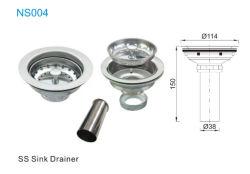 Material de Aço Inoxidável Drainer Dissipador de 114x114mm NS004