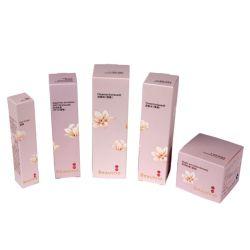 La casella di carta riciclata 100ml svuota il marchio impaccante di abitudine del contenitore di siero del contenitore di toner della pelle