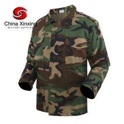 Esercito militare uniforme Oftshell impermeabile Woodland Jungle Camouflage polizia tattica Giacca invernale M65 BDU