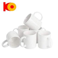 330 мл Super белая бумага с покрытием высокого качества Kunyang 11oz фото керамические кружки кофе молоко кружка Сублимация кружки