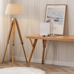 """ Natürliche Bambusfarben-große Stativ-Fußboden-Lampe mit weißem der Linon Möbel-/Lighting/LED Licht Beleuchtung-/Lamp/Decoration/-LED/Bulb/Tripod/Indoor"