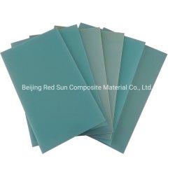 مواد عازلة عالية الفولتية من الزجاج من الألياف الزجاجية من الكس F4 ورقة من الورق المقلي مع لون أخضر أزرق مائي