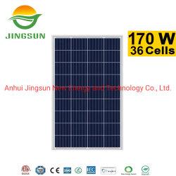 Stock Poly 160W 170W pannello fotovolta 12V 180W 160wp Solar Pannello per sistema di alimentazione solare