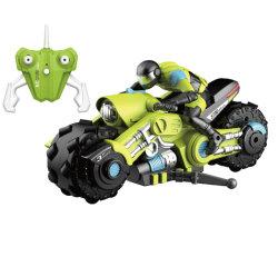 리모컨 1:10 360도 스턴트 드리프트 RC 모터 LED 라이트 차량 전기 장난감 고 카트