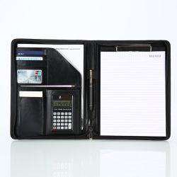 Custom Business A4 Ring Binder Leather Presentation Executive File Holder (カスタムビジネス A4 リングバインダーレザープレゼンテーションエグゼクティブファイルホルダー