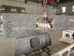 Chinesischer preiswertester grauer Granit-grosse Platte-Fertighaüser für Countertop-/Kitchen-Oberseite-/Bathroom-Oberseiten/Eitelkeits-Oberseiten/Fertighaüser/Hotel-Projekt