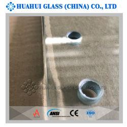 12mm temperada painéis de vidro para Piscina Fencing AS/NZS 2208 ANSI Z97.1 grau a
