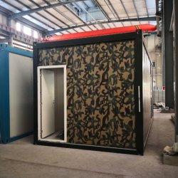 Diseño personalizado de un paquete plano Casa Contenedor de Cabaña de troncos en Chile