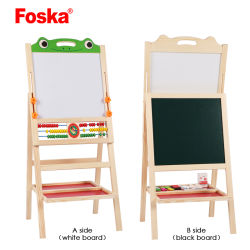 Foska Articles de papeterie de bureau scolaire planche à dessin magnétique en bois