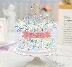 Buon anno buon Natale 2021 Natale Natale inverno festivo torta Topper Ciao 2021 Capodanno torta decorazione