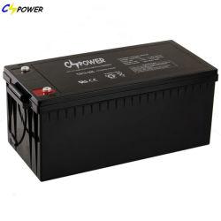 Cspower IEC-approuvé 12V200ah Accumulateurs/12V-48V-Solar-Lead-Acid-Battery/UPS-backup -Batterie/Batteries/Energy-Storage Maitnenace-Rechargeable--batterie/Telecom