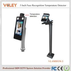 Sans contact de détection automatique de la reconnaissance de visage de la température corporelle de surveillance de la détection de température Système de caméra