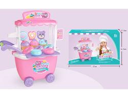 Новейшие Романа Мороженое тележки играть игрушки детей пластмассовые игрушки H8785104