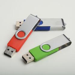 Image de marque personnalisée Flash Memory Stick™ 4 Go et 32 Go à 64 Go Pendrive USB 2.0 Mini Lecteur Flash USB de stockage de pivotement