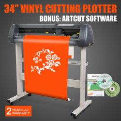 "Plotter Cortador de Vinilo 34"" para industrias Adversting."