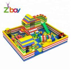 Большой замок строительные блоки игрушка