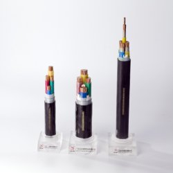 Condutores de cobre entrançado sólido ou revestimento de PVC e Construção do Cabo de Energia Elétrica flexível de aplicativos