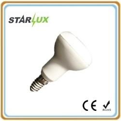 LEDの反射鏡の電球R50 6W E14はカラーか涼しいカラーを暖める