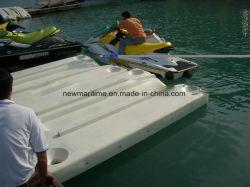 Los paneles acoplados de embarcaciones a motor, Jet Ski Dock sin rodillos