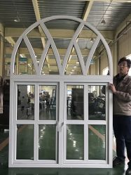 Fenster-Tür-Herstellungs-Maschinerie Fabrik-Verkauf Belüftung-Bogen-Fenster-verbiegende Maschine Belüftung-UPVC
