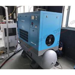 20HP 15kw compresseur à air à vis pour le plastique de la machine avec réservoir d'air