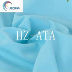 100%80GSM Plian Poliéster lençóis de cama tingidas Fabric
