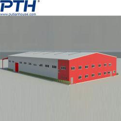 높은 디자인 산업 Prefabricated 조립식 건물에 있는 날조한 건축 강철 프레임 구조가 모듈 창고 작업장 온실 빛 금속에 의하여 직류 전기를 통했다