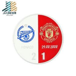 L'émail doux personnalisé ballon de soccer Club de Football Club de souvenirs de Manchester