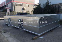 Bacino di alluminio del pontone del blocco per grafici di alta qualità per la barca