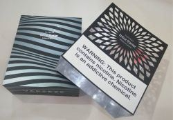 Elektronische sigarettenaansteker elektronische productverpakking geschenkverpakking Folding Doos met magneet