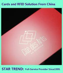 125kHz/13.56MHz compatible 1K de la tarjeta de etiquetas RFID de plástico