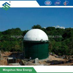 De Koepel van het Gas van de Opslag van het Biogas van het membraan voor Anaërobe Spijsvertering