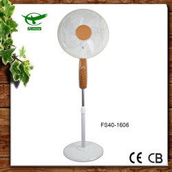 "Golden Plastic potente ventilador suporte elétrico de 16"""