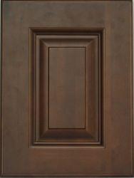 현대 올려진 위원회 사각 내각에 의하여 이용되는 부엌 찬장 문