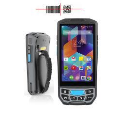 الوحدة الطرفية لتجميع البيانات اللاسلكية رمز Android ماسح الرمز الشريطي الثنائي الأبعاد المحمول باليد مع GPS GPRS