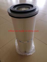 Le MTR Top plissé en polyester chargé d'impulsion de l'air du filtre à cartouche