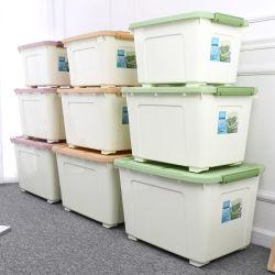 40 60 80L пластиковая коробка для хранения контейнер на колесиках игрушки в салоне/пластиковые окна