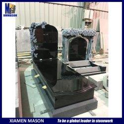 Nam het Zwarte Graniet van Shanxi van de douane Monument van de Begraafplaats van de Bloem het Snijdende toe