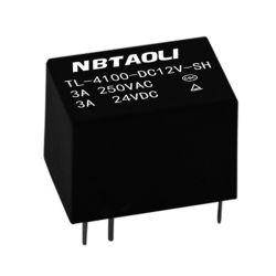 12V DC Tl 4100 일반적인 릴레이 최고 소형 낮은 힘 릴레이