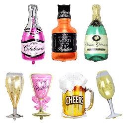 最もよい品質PVC広告のための膨脹可能なワイン・ボトル