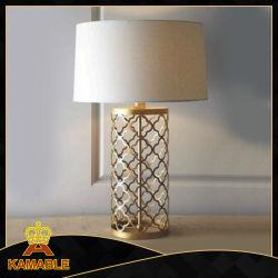 L'intérieur de l'hôtel Chambre décoratifs en métal Table moderne de la lampe de chevet (KAT6112)