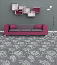 China Tapete orgânico padrão floral de superfície de PP Moden Design Hotel com tapete de parede a parede alcatifa por grosso de Fábrica do Rolo