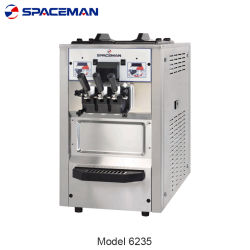Programável portátil servem sorvete máquina 6235