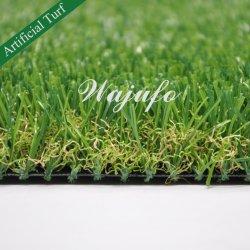 35mm künstliches Gras-synthetischer Rasen, der Rasen für Landschaft landschaftlich verschönert
