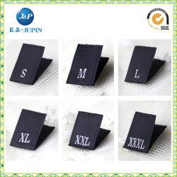Новые настраиваемые Satin размер тканого наклейки для одежды (JP-CL028)